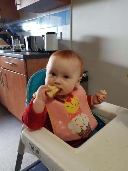 Banana on toast